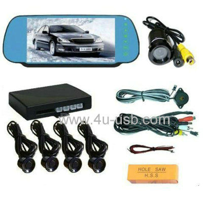 7 inch Rearview Mirror LCD Monitor Car Rear view System