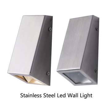 304 stainless steel GU10 outdoor  anti-corrosion wall light