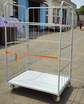 High quality zinc wire roll cage