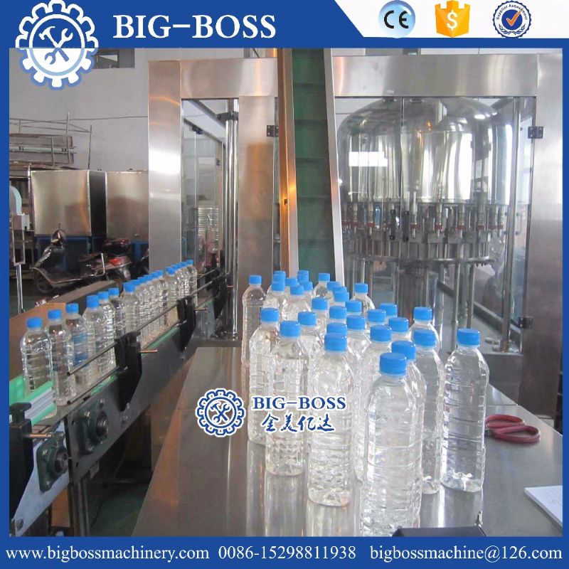 full automatic pet bottle hot filling machine / process