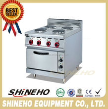 W084 kitchen equipment Electric Cooking Range for hot sale