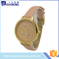 Manufacturer supplier lady watch excellence quartz stainless steel back OEM