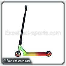 high quality Dirt kick Pro Stunt Scooter black with rasta