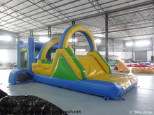 PK160603022 outdoor pvc toy bouncy castle adult on park inflatable small kids slide