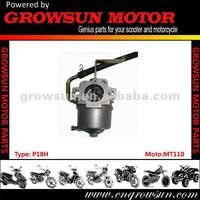Hot selling cheap price MT110 Motorcycle Carburetor
