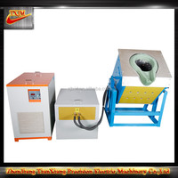 High Efficiency Scrap Iron Electric Crucible Induction Titling Melting Furnace For Sale