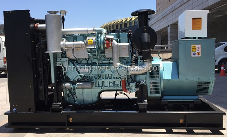 Three Phase water cooled gas engine 200kw biogas generator for sale