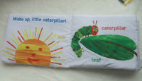 new Ring paper cloth book the very hungry caterpillar Stereo cloth book