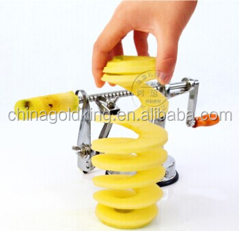 multi-function aluminum alloy apple peeler corer slicer