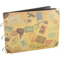 Scrapbook Photo Albums with Stickers for recording Gifts, Travel book, Photo Storage