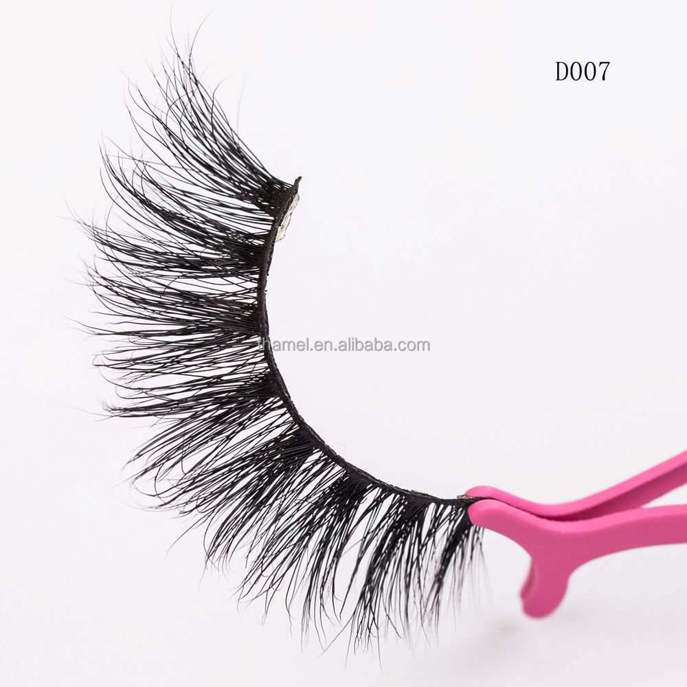 Factory Price Custom Lily top grade lashes real Siberan mink 3d mink lashes eyelashes