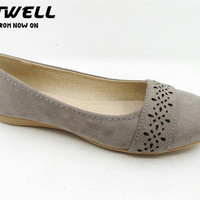 New Trendy Ladies Flat Gray Color