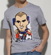 Cheap 2013 Custom o-neck printed tshirt korea men