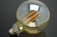 125mm wide 176mm height G125 large Retro LED Filament Edison Lamp Light globes Bulb 220V led lights for homes