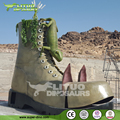 Large Boots Statue Square Decor Customized Model