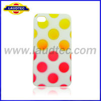 Newly Coming Lovely Plastic Polka Dot Hard Case for iPhone 5c