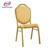 Top quality and best price stacking aluminum restaurant event chair