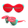 BKFG1509045 Fashion fun Children sunglasses, flip baby glasses in China manufacturers wholesale