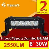 2016 Cheap New Superbright Crees 5W single row 8 inch led light bar offroad light bar