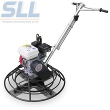 High efficiency electric concrete power trowel power steering flush machine
