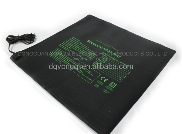 Propagation seedling heated mat for hydroponics system