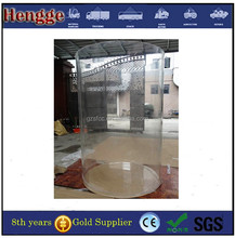 Clear Large Diameter Hollow Acrylic Tube