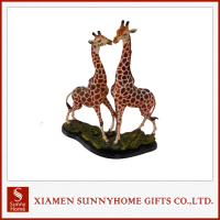 Crafts Decoration Custom Made Resin Giraffe
