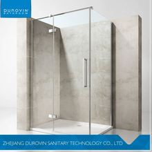 Factory direct sale low price frameless portable 10mm glass shower enclosure with good prices