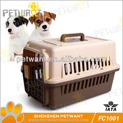 Small size plastic folding dog kennel FC-1001