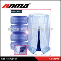 China disposable plastic car wheel and tire covers factory