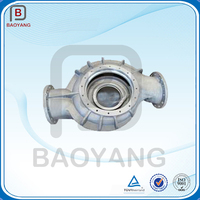 Different spacification customized aluminum sand casting pump body