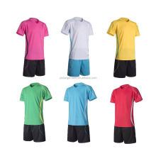 New model women blank soccer jerseys Wholesale no logo sublimated cheap soccer uniforms for teams