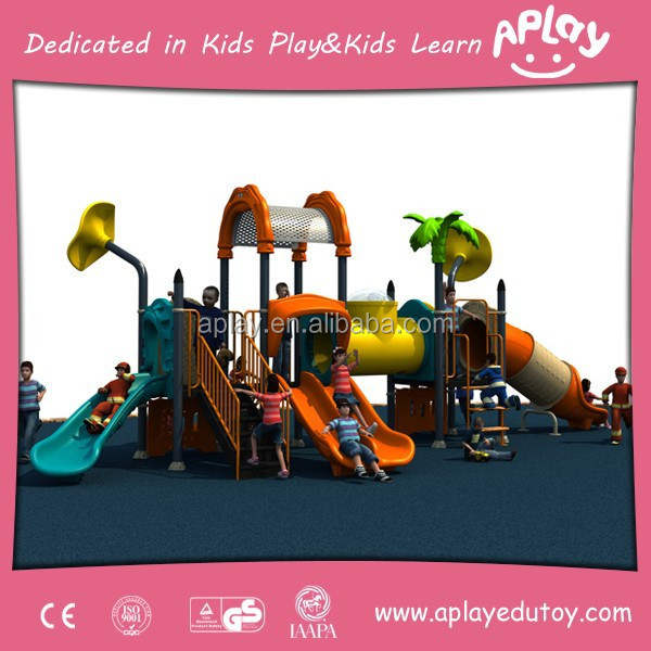 Hot-Selling Plastic Outdoor Playground Equipment for Kids 3 to12 Years Old Items AP-OP31107