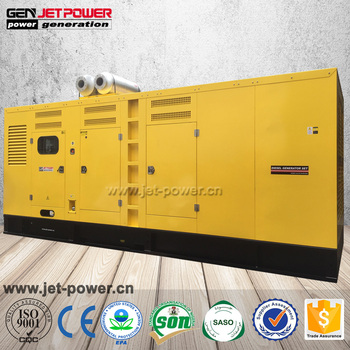 800 KW diesel generator silent big power generators diesel generator price in Bangladesh