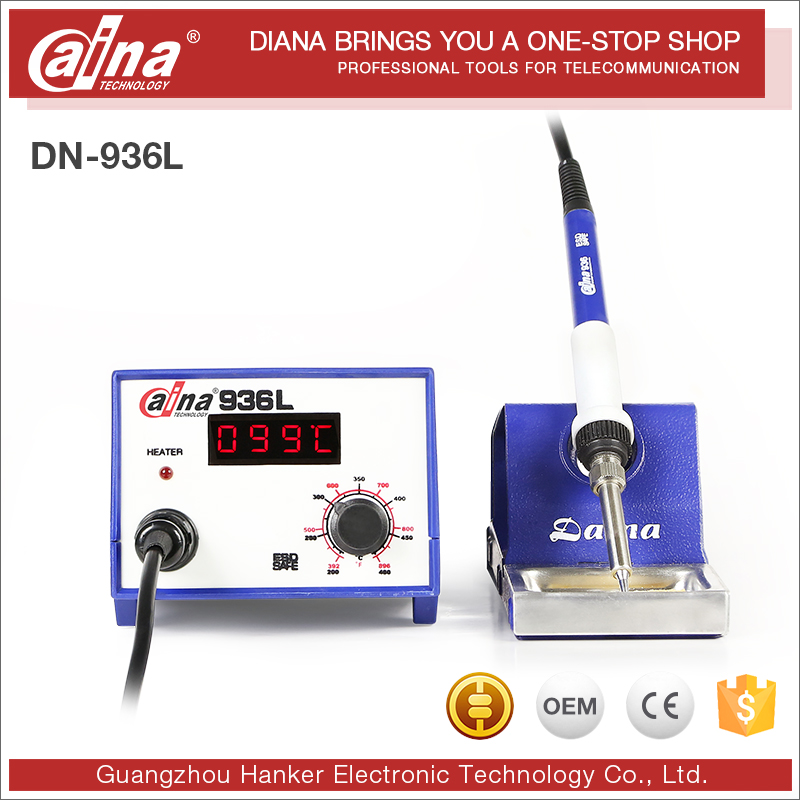 Wholesale Daina DN-936L New Deaign 50W Digital Display Machine Soldering Iron