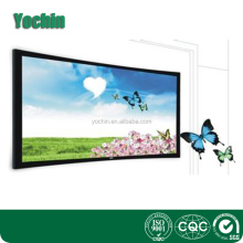 extra large electric projection screen/fixed frame exhibition