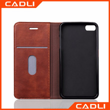 Luxury Retro Full cover phone case for iphone 6 plus PU leather wallet