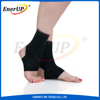 Copper ankle support foot brace wrap