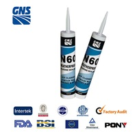 professional two component polysulphide sealant for glass auto lamp