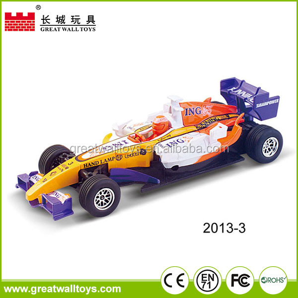 High Speed Inertia Formula 1 Toy Cars