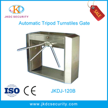 Electronic half height manual panke card key access systems tripod turnstile