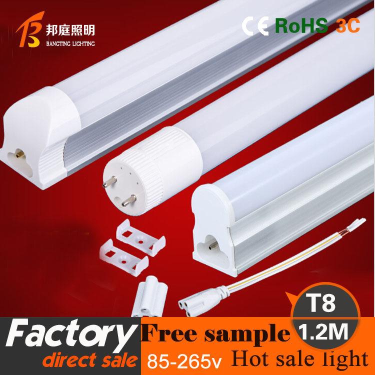 Factory price 16w 1200mm lights 4ft/5ft/6ft/8ft T8 Led Tube