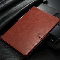 2016 New Arrival Case for iPadmini4, for iPad mini 2 3 4 Leather Wallet Case Cover Accessary