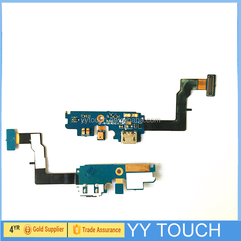 Flex Cable With Charge Port For Samsung Galaxy S2 I9100 I777 Usb Charger Connector Flex Cable
