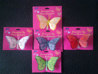feather butterflies manufacturer supply artificial feather butterflies for decoration
