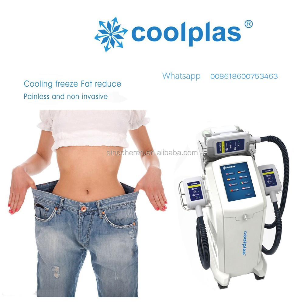 Cooling Vacuum Fat Frozen Freeze Criolipoliza Cellulite Reduction Cold Slimming