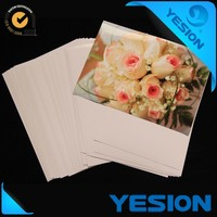 Yesion Hot Photo Sale, Embossed Double-sided 220gsm A4 Glossy High Inkjet Photo Paper (Cloth Texture)