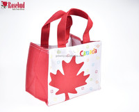 Canada National Logo Maple Leaf Printed Canva Bag For Packaging