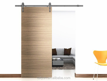 Safe sliding barn door hardware