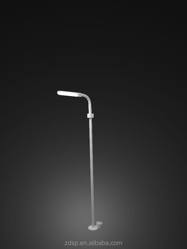 mini waterproof led garden lighting pole light /led pole light with UL ROHS certification